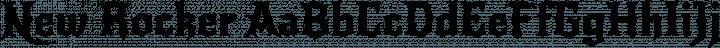 New Rocker font family by Impallari Type