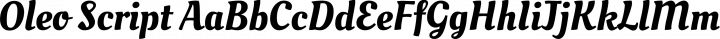 Oleo Script Regular free font