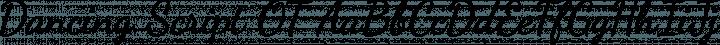 Dancing Script OT font family by Impallari Type