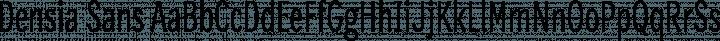 Densia Sans Regular free font