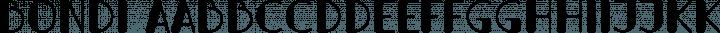 Bondi font family by Alejo Bergmann