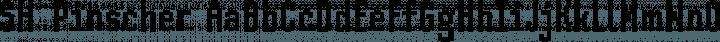 SH Pinscher font family by Design Sayshu