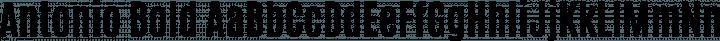 Antonio Bold free font