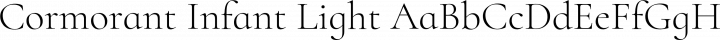 Cormorant Infant Light free font