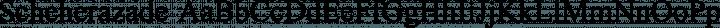 Scheherazade Regular free font