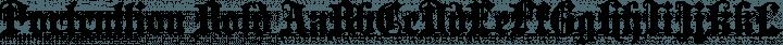 Portcullion Bold free font