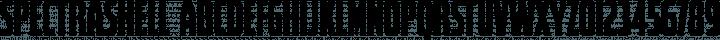 Spectrashell Regular free font
