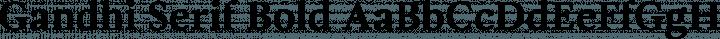Gandhi Serif Bold free font