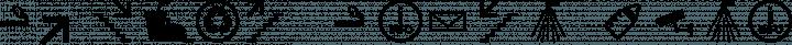 Symbol Signs Basis set free font