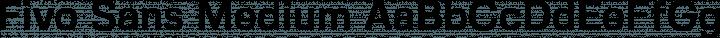 Fivo Sans Medium free font