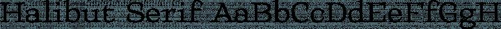 Halibut Serif font family by collletttivo.it