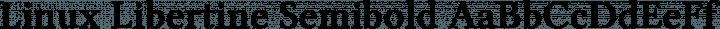 Linux Libertine Semibold free font