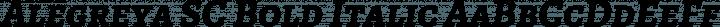 Alegreya SC Bold Italic free font