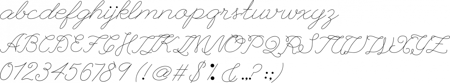 League Script #1 Font Free by The League of Moveable Type