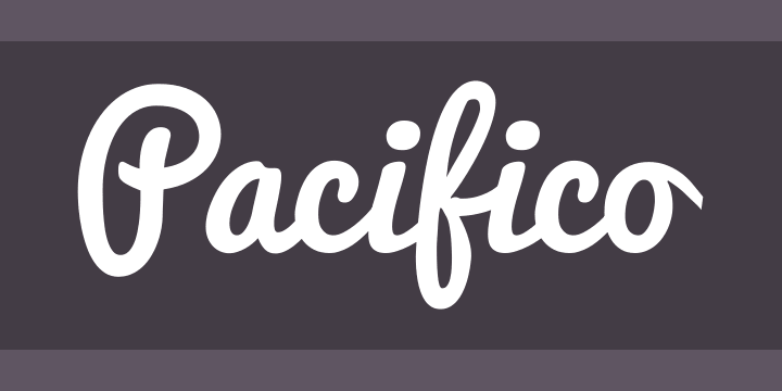 Pacifico Font Free by Vernon Adams » Font Squirrel