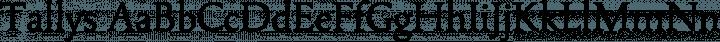 Tallys Regular free font