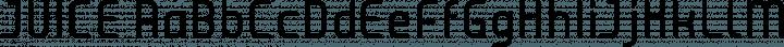 JUICE Regular free font