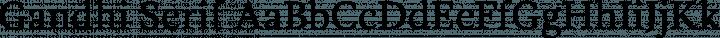 Gandhi Serif Regular free font