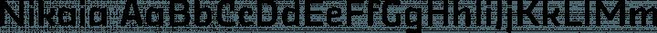 Nikaia Regular free font
