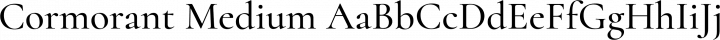 Cormorant Medium free font