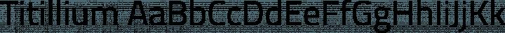 Titillium font family by Accademia di Belle Arti Urbino
