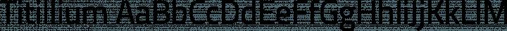 Titillium Regular free font