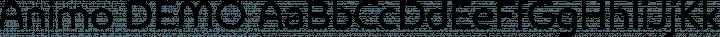 Animo DEMO free font