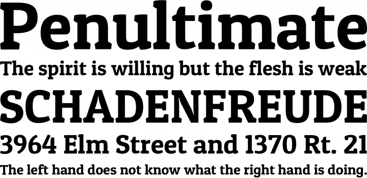 Patua One Font Free by Latinotype » Font Squirrel