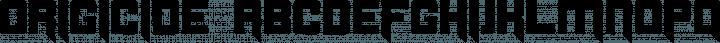 Origicide font family by Cpr.Sparhelt