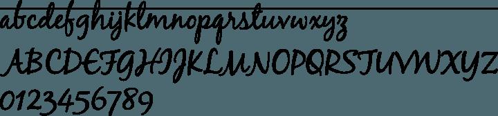 blackjack schrift
