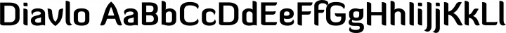 Diavlo font family by Exljbris