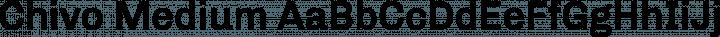 Chivo Medium free font