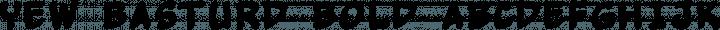 Yew Basturd Bold free font