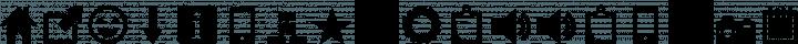 Heydings Common Icons Regular free font