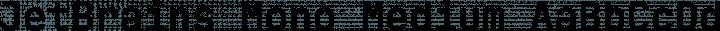 JetBrains Mono Medium free font