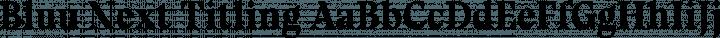 Bluu Next Titling free font
