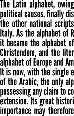 League Gothic Font Free by The League of Moveable Type