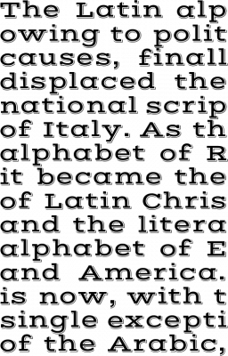 Vast Shadow Font Free By Sorkin Type Co Font Squirrel
