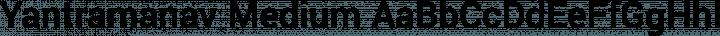 Yantramanav Medium free font