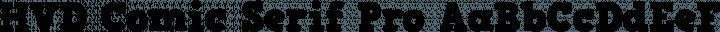 HVD Comic Serif Pro Regular free font