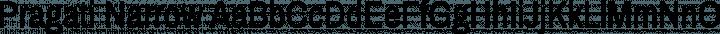 Pragati Narrow Regular free font