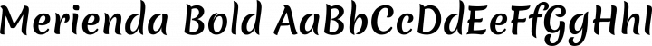 Merienda Bold free font