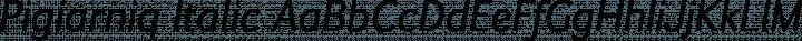 Pigiarniq Italic free font
