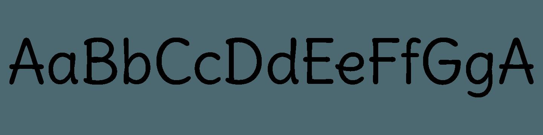 Delius Font Free by Natalia Raices » Font Squirrel