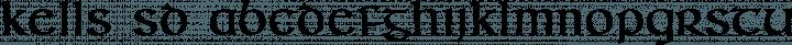Kells SD font family by Steve Deffeyes