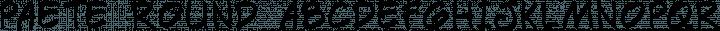 Paete Round Regular free font