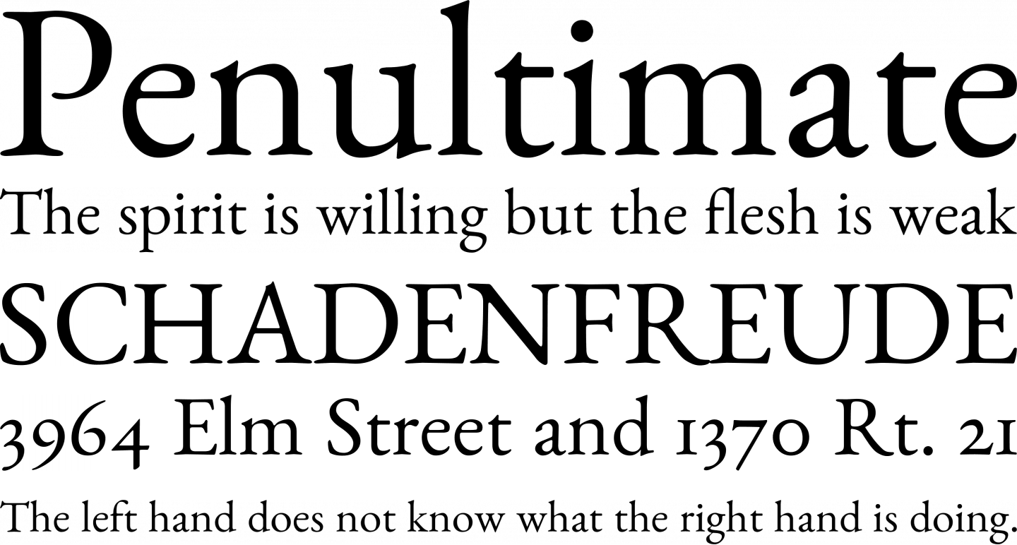 Benne Font Free by John Harrington » Font Squirrel