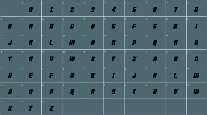 Commando Font Free by defaulterror » Font Squirrel