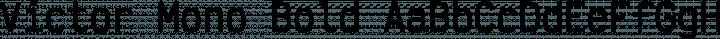 Victor Mono Bold free font