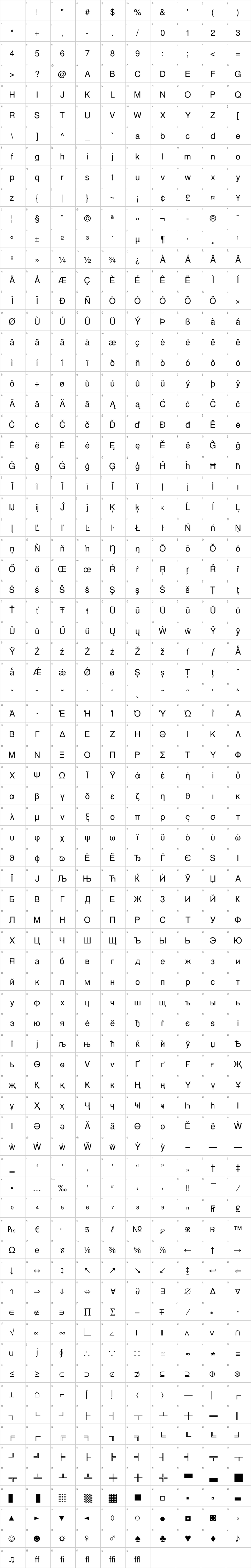 Nimbus Sans L Font Free by URW++ » Font Squirrel